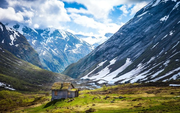 Norway Summer (Public Domain Licence)